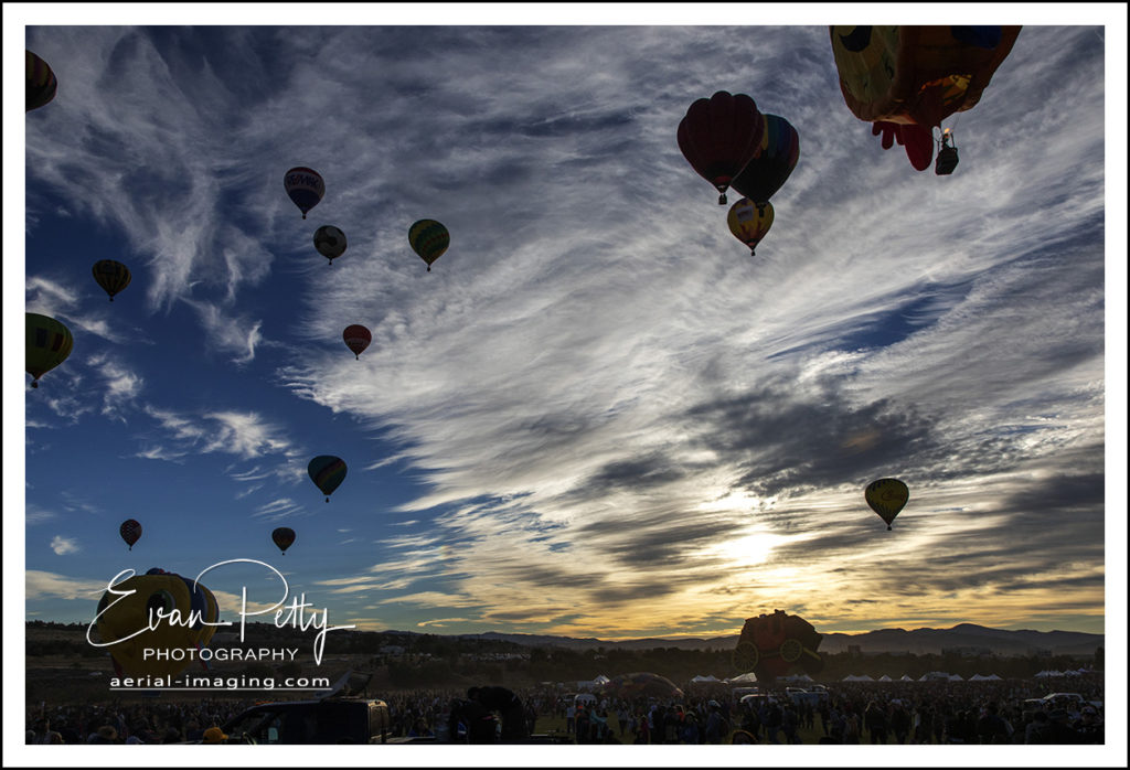 Clouds Balloon Race Reno Nevada 2018