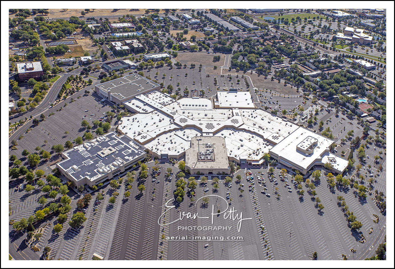 Meadowood Mall aerial view in Reno, Nevada