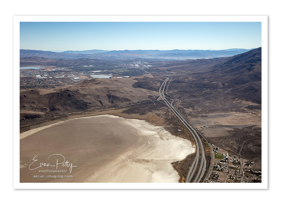 Aerial View Reno Cold Springs